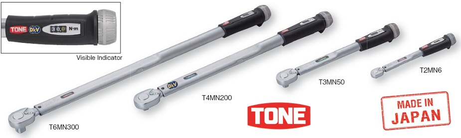 co le luc Tone T3MN20, co le siet luc Tone T3MN20, Tone torque wrench T3MN20